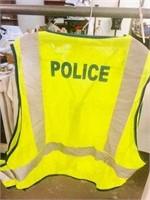 Adjustable Reflective Police Law Enforcement Vest
