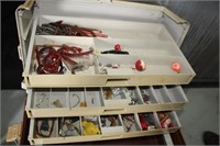 TACKLE BOX OF TACKLE