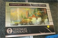 THOMAS KINKADE GLASS CUTTING BOARD