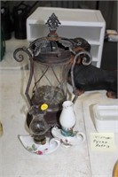 OIL LAMPS & CANDLE HOLDER