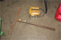 JIG SAW & VNTAGE CLAMP/TONGS