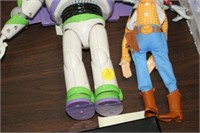 2 TOY STORY FIGURES