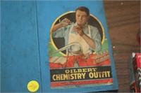 VINTAGE GILBERT CHEMISTRY KIT