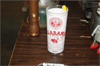 1964 ALABAMA NATIONAL CHAMPS GLASS