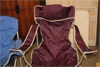 2 OUTDOOR FOLDING CHAIRS