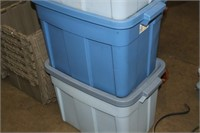 TOTE WITH LID X 4