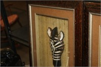 ZEBRA & GIRRAFFE DISPLAYS,16XX20