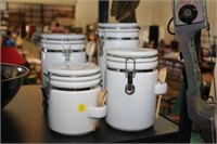 4 PC CANISTER SET