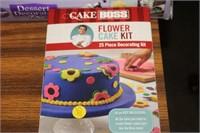 FLOWER CAKE KIT & DESSERT DECORATOR
