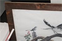 FRAMED TN MOCKINGBIRD PRINT