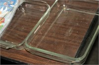 PYREX AND FIREKING BAKING DISHES