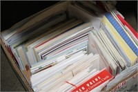 LOT OF GREETING CARDS