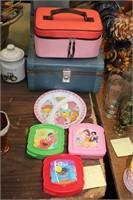 KIDS SADWICH BOXES,SUITCASE,ETC