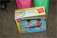 KIDS OUTDOOR CHAIR & POOL FLOAT