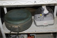 HUMIDIFIER , VINTAGE SUITCASE
