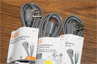 3 APPLIANCE CORDS