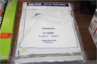 100PK OF POLY MAILERS