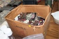 BOX OF RAQUET BALL GLOVES