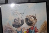 FRAMED BOY & GIRL POSTER
