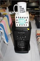 CUISINART COFFEE MAKER & MUG