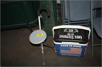 PAINTED COOLER & CANE SEAT