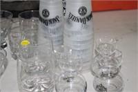 VARIOUS JACK DANIELS GLASSES