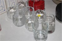 LOT OF GLASSWARE & COFFEE CUPS