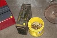 METAL AMMO BOX & HINGES