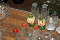 LOT OF VARIOUS SALT AND PEPPER SETS