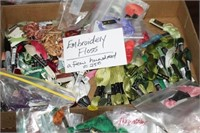 LOT OF EMBROIDERY FLOSS