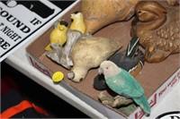 LOT OF BIRD ITEMS