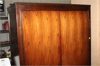 BERNHARDT ENTERTAINMENT CENTER WITH DRAWERS