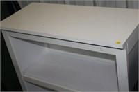 WHITE BOOKCASE 31X14X36 TALL