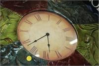 DECORATIVE METAL CLOCK