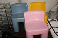 3 CHILDS CHAIRS