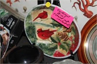 CARDINAL BOWL & HERITAGE COLLECTION PLATE