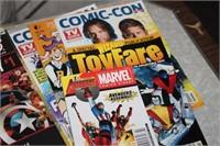 LOT OF COMIC PUBLICATIONS