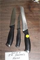 3 JA HENCKEL KNIVES