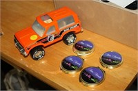 METAL CAR & PILL BOXES
