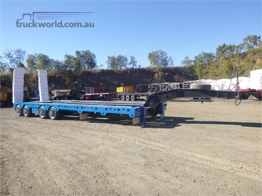 1990 Lusty Low Loader Platform - Trailers for Sale