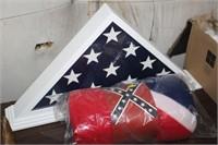 FLAG THROW & FLAG DISPLAY DECOR