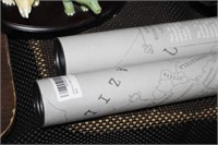 2 MAPS IN TUBES