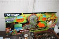 X SHOT NERF GUN
