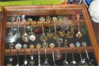 CASE OF COLLECTOR SPOONS