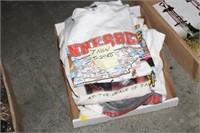 BOX OF NEW T-SHIRTS