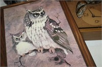LOT OF OWL DECOR & MISC