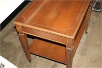 OCCASIONAL TABLE, 27X19X24 TALL
