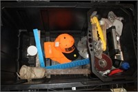 HUSKY ROLLING STORAGE TRUNK WITH MISC