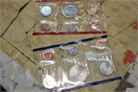 2 SETS OF UNCIRCULATED COINS