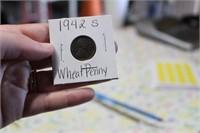 1942 S WHEAT PENNY